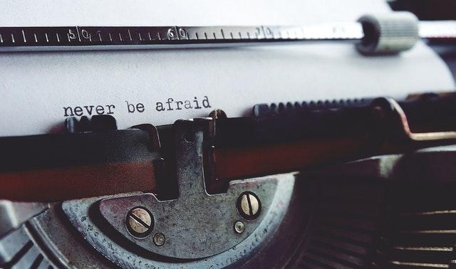 Tener éxito en la escritura-miedo