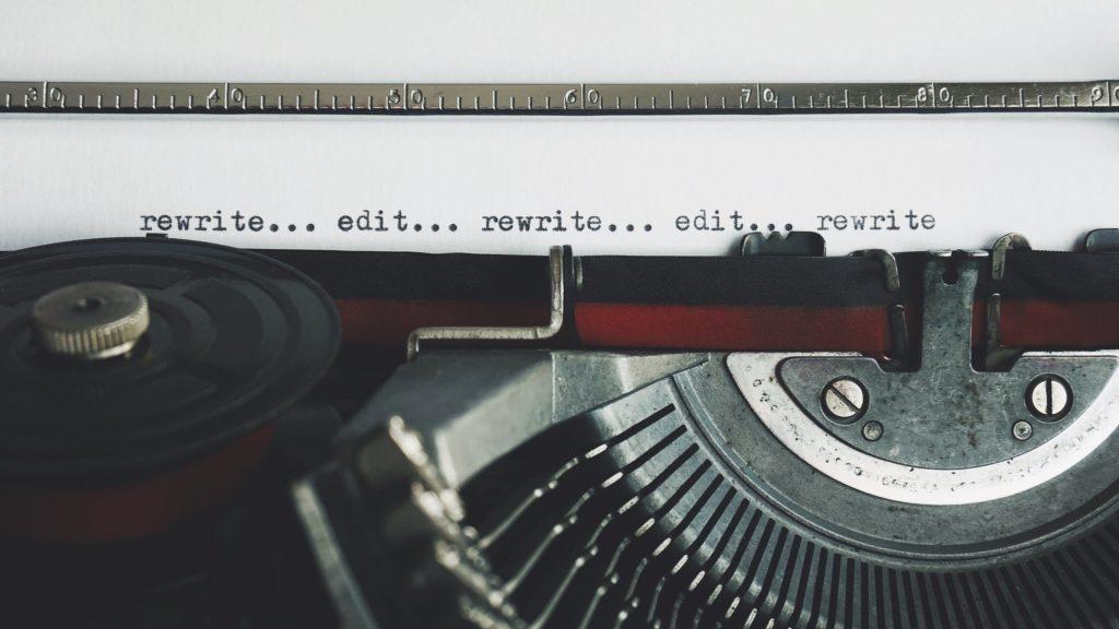 ser escritor-corregir